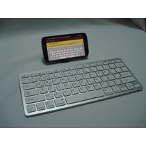 Teclado Bluetooth Smartphone Ipad Iphone Pc Notebook