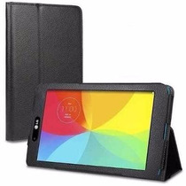 Capa Case Couro Lisa Tablet Lg G Pad 8.3 V500 + Pelicula