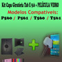 Kit Capa 360 Tablet Samsung Tab E 9.6 T560 + Película Vidro