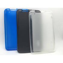 Capa Case Tpu Tablet Cce Motion Tr71 Tr72 + Película Vidro
