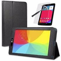 Capa Case Tablet Lg G Pad 8.0 V480 V490 + Pelicula De Vidro