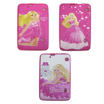 Capa Silicone Barbie Para Tablet Cce Tr91 Tr92 9 Polegadas.