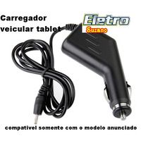Carregador Veicular Para Tablet Tectoy Disney Tt2500 Tt2501