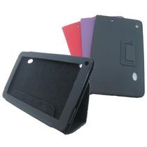 Capa Carteira Couro Para Tablet Multilaser M9.