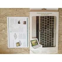 Capa Case Teclado Bluetooth Keyboard Para Apple Ipad 2, 3, 4