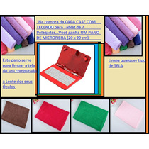 Capa Case Para Tablet 7 E 7.7 Com Teclado Usb