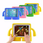 Capa New Ibuy Ipad Mini 2 3 4 Proteção Kids + Película Vidro