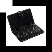 Capa Para Tablet 7 Polegadas Com Teclado Micro Usb