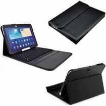 Capa Case Couro Teclado Samsung Galaxy Tab 2 10.1 5110 8010.