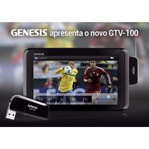 Receptor Tv Digital P/ Tablet Genesis Gtv-100 Em Curitiba !