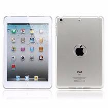 Capa Tpu Transparente Ipad Mini 2 Case Silicone + Película