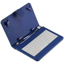 Capa Case Teclado Usb Tablet 7 Dl Cce Phaser Philco - Azul