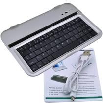 Case Teclado Alumínio Bluetooth Tablet Galaxy Note 8.0 N5100