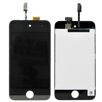 Tela Vidro Lcd + Display Touch Ipod 4 Preto Original