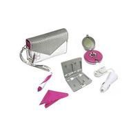 Thrustmaster Silver Pack Nintendo Dsi / Ds Lite Prata E Rosa
