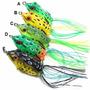 2 Isca Artificial Frog Sapo Rã Perereca Pesca Traíra Modelo
