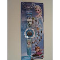 Filme Frozen Relogio Com Projetor De 20 Imagens Promoção !!
