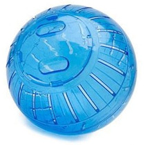 Globo Bola Exercícios Hamster 12cm - Azul, Vermelho, Laranja