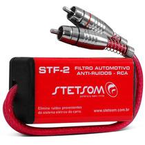 Filtro Supressor Anti Ruído Stetsom Stf-2 Rca