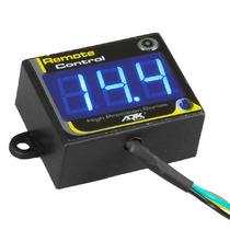 Voltímetro Digital Ajk Inteligente Remote Control Led Azul