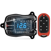 Voltímetro Taramps Vtr-1200 Digital Azul + Frete + Controle