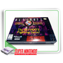 Snes Mini Caixa Ultimate Mortal Kombat 3 Super Nintendo