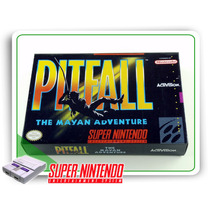 Snes Caixa Pitfall The Mayan Adventures Berço Super Nintendo