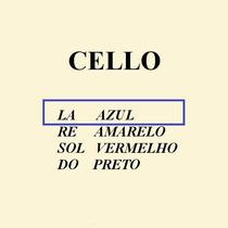 Corda Lá Avulsa Para Violoncello - Cello Mauro Calixto 4/4