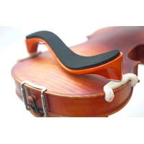 Espaleira De Madeira P/ Violino 3/4 -- 4/4 - Rajada