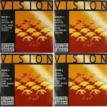 Jogo De Cordas Thomastik Vision Violino 4/4