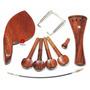 Kit Rosewood Viola De Arco: Cravelhas, Queixeira, Estandarte