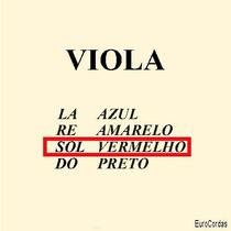 Corda Sol Avulsa - Mauro Calixto P / Viola Arco (clássico)