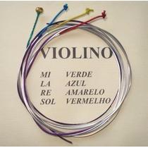 Jogo Cordas Mauro Calixto P / Violino