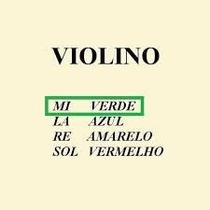 Corda Avulsa - Para Violino - Mauro Calixto - 1º Mi