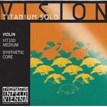 Encordoamento De Violino Vision Titaniun Solo 4/4. Austria
