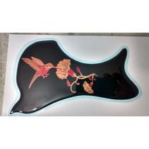 Violão Fender Escudo Floral Beija-flôr1 Boca 9,8