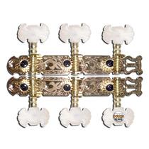 Tarraxa Violao Dourada Super Luxo Tarracha Violao Classico