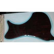 Escudo Para Violão Folk Canhoto Cor Madeira