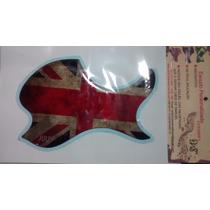 Escudo Personalizado Para Violão Boca Oval Inglaterra