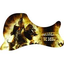 Escudo Para Violão Folk Armadura De Deus