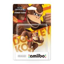 Amiibo Donkey Kong Nintendo Novo Lacrado Sdgames Wiiu 3ds !!