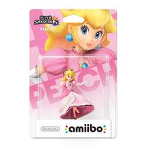 Amiibo Princess Peach Lacrado Sdgames Wiiu 3ds Smash Bros !!