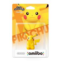 Amiibo Pikachu Nintendo Novo Lacrado Sdgames Wiiu 3ds Pokemo