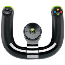 Novo Lacrado Volante Sem Fio Wireless Speed Wheel Xbox 360