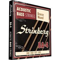 Encordoamento Strinberg Ba4 Para Baixolão 4 Cordas
