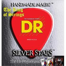 Encordoamento Baixo De 5 Cordas Dr Silver Stars .45