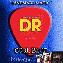 Encordoamento Azul Baixo De 4 Cordas Dr Cool Blue .40
