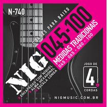 Corda / Encordoamento Nig N740 Baixo - Contrabaixo 4 Cordas