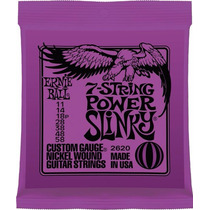 Encordoamento Ernie Ball Guitarra 011 2620 Original 7 Cordas