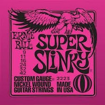 Encordoamento Guitarra Ernie Ball 009